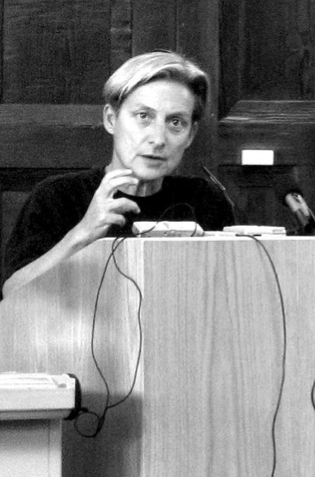 Judith Butler at Occupy Wall Street.