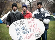 Quote: A Refugee Protest Camp